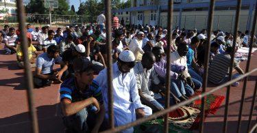 Mais da metade dos europeus quer veto a imigrantes muçulmanos