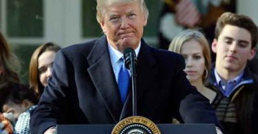 Trump faz discurso pró-vida histórico, mas comete a gafe de congratular republicanos homossexuais