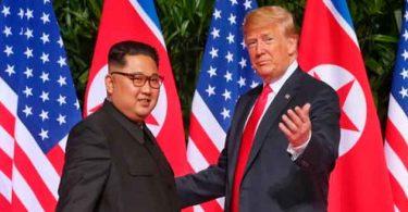 Trump confrontou Kim Jong Un sobre atrocidades contra cristãos