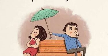 Casais felizes não deixam de se preocupar um com o outro...