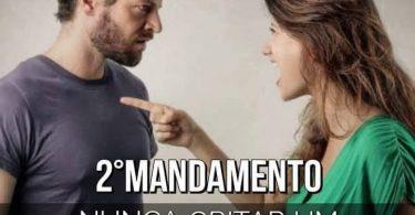 2º Mandamento do Casamento