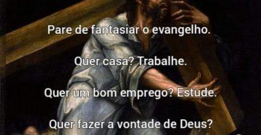 Fantasiar o Evangelho