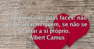 não pode amar… Albert Camus