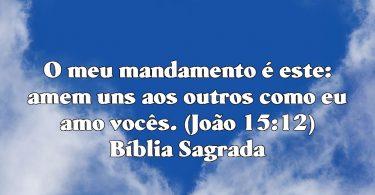 amem uns aos… Bíblia Sagrada